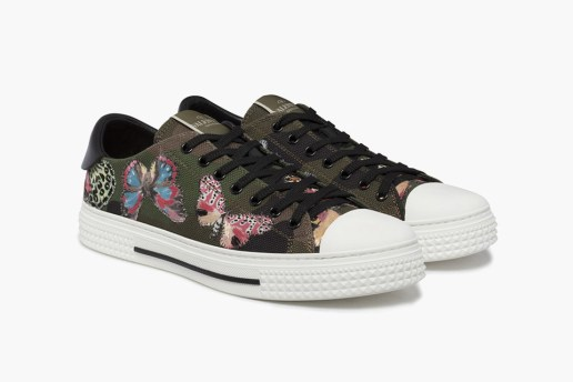 "Valentino 2016 Spring ""Butterfly Print"" Sneaker"