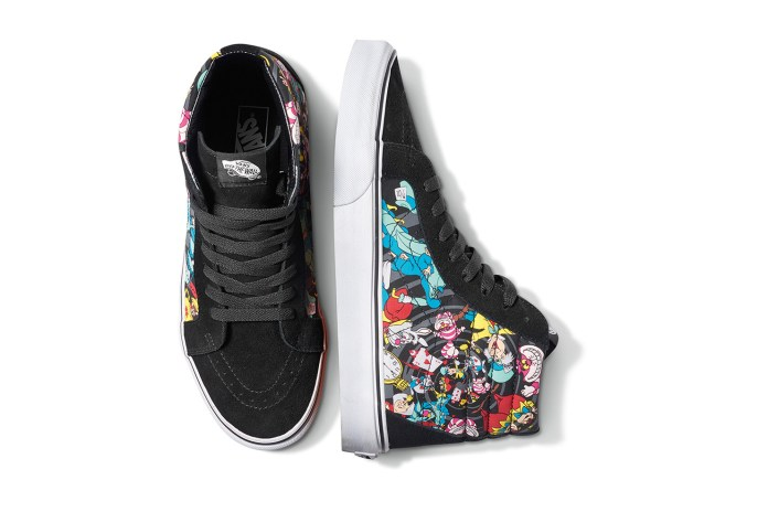 "Disney x Vans 2015 Holiday ""Alice in Wonderland"" Pack"