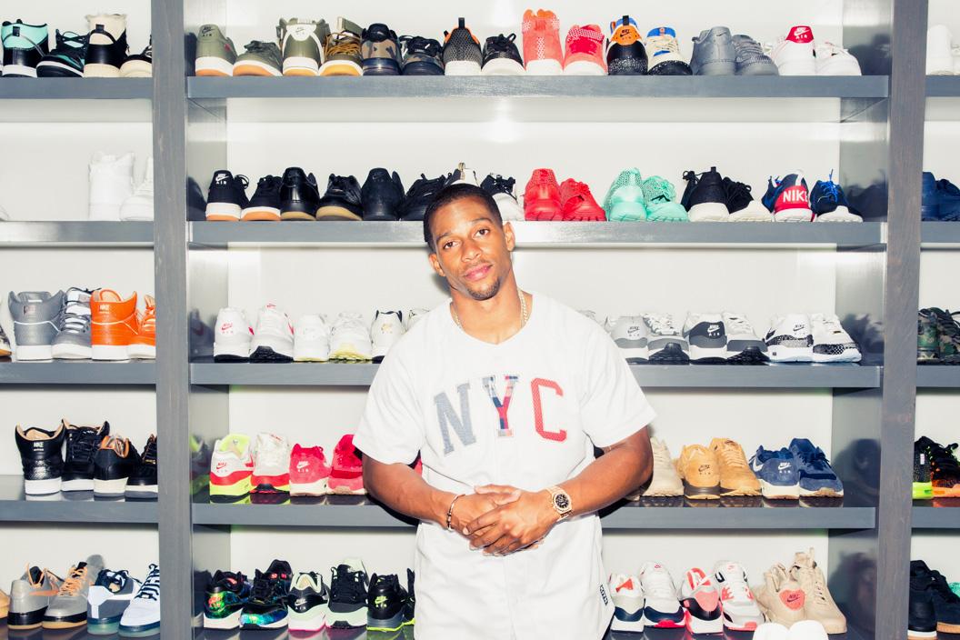 Victor Cruz Opens up His Closet