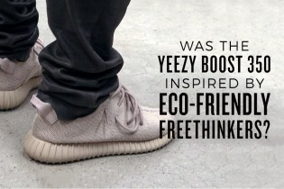 Was the Yeezy Boost 350 Inspired by Eco-Friendly Freethinkers?