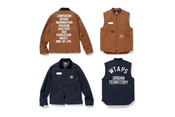 WTAPS x Carhartt WIP 2015 Fall/Winter Collection