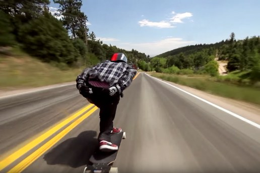 This Longboarder Bombs Colorado's Fastest Run at Light Speed
