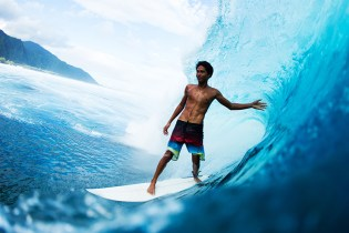 17-Year-Old Tahitian Surfer Tackles World's Heaviest Wave