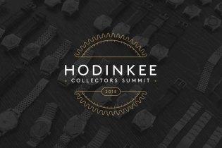 2015 HODINKEE Collectors Summit