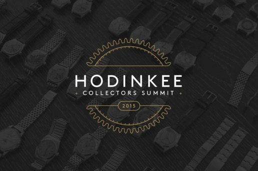 2015 HODINKEE Collectors Summit