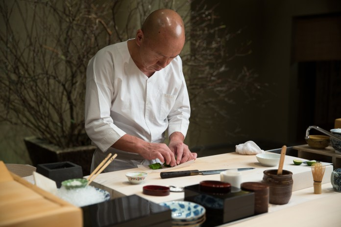 A Look Inside Masa, America's First 3-Michelin Star Sushi Restaurant