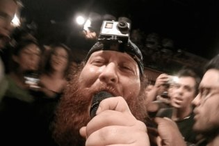 Action Bronson Performs at Boiler Room With a GoPro on His Head and Microphone