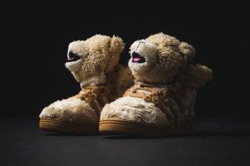 "adidas Originals by Jeremy Scott JS Bear ""Tan"""