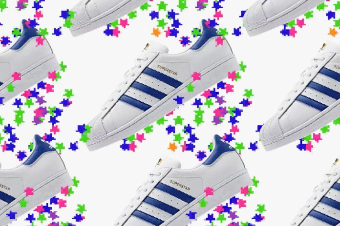 Watch This Lo-Fi Glitch Art Video for the adidas Originals Superstar
