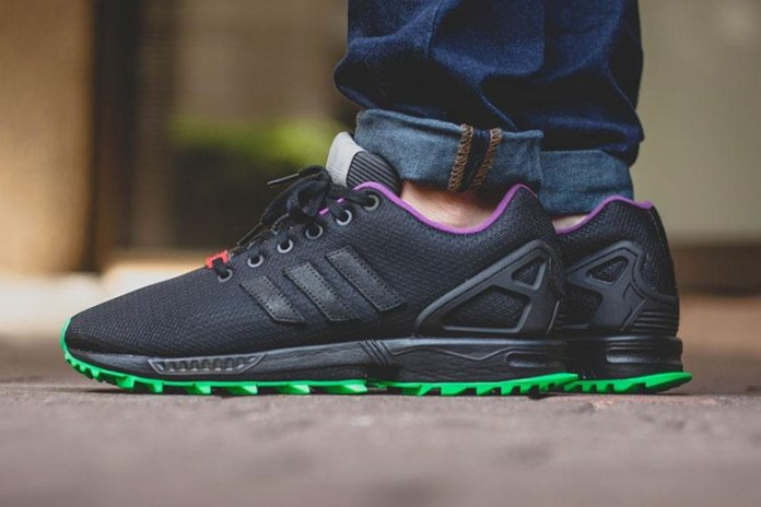 "adidas Originals ZX Flux ""Flash Lime"""