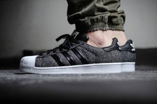 "adidas Superstar Winterized ""Black N White"""