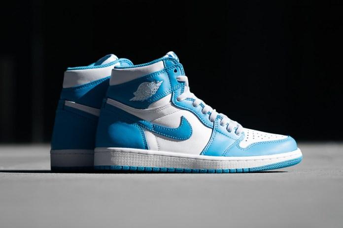 "Air Jordan 1 Retro High OG ""Powder Blue"""