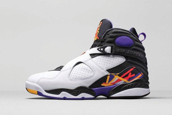 """Air Jordan 8 Retro """"Three Time's A Charm"""""""