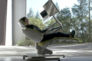 The Desk That Lets You Work While Lying Down