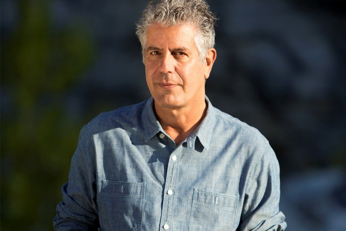 Anthony Bourdain Talks Sushi, His New Graphic Novel & More