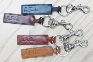 "A.P.C. 2015 Winter ""Cuoio"" Keychains"