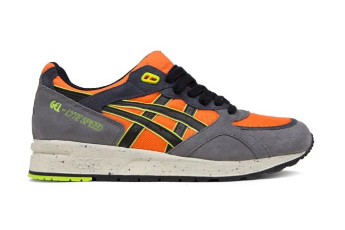 ASICS GEL-Lyte Speed Orange/Dark Grey