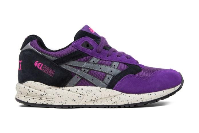 ASICS GEL Saga Purple/Grey