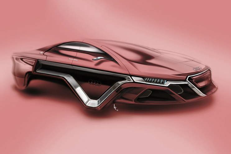 Kevin Clarridge's New Audi Concept Makes Wheels a Thing of the Past