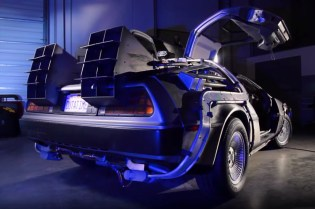 Watch the Original DeLorean From 'Back to the Future' Restored to Its Former Glory