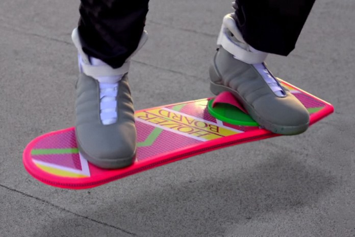 Watch This Official Commercial for the Hoverboard From 'Back to the Future'