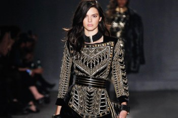 Balmain x H&M 2015 Fall/Winter Runway Show