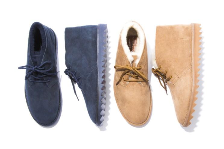 BEAUTY & YOUTH x Airwalk 2015 Fall/Winter Sheepskin Desert Boot