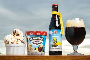 Ben & Jerry's New Belgium Craft Beer Ice Cream
