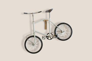 A Bicycle Perfectly Designed for Small Apartments