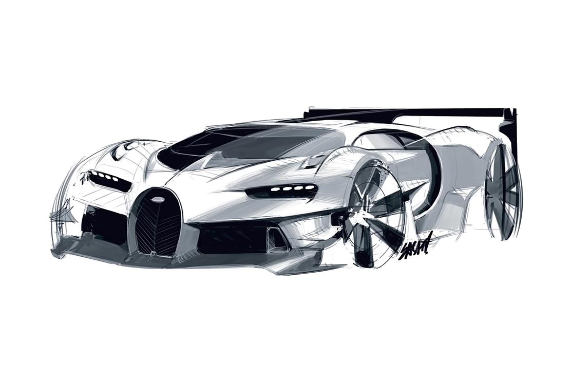 The Making of the Bugatti Vision Gran Turismo