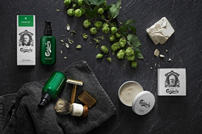 Carlsberg Beer Launches a Range of Beard Grooming Products