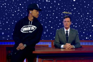 Chance The Rapper Premieres New Song on 'The Late Show with Stephen Colbert'