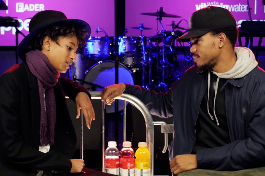 Chance the Rapper & Willow Smith Interview Each Other in NYC