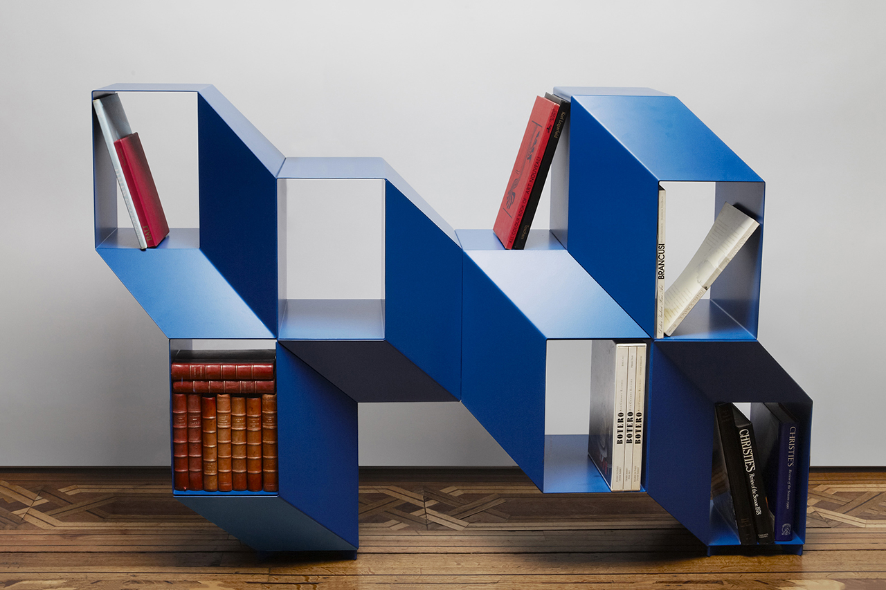 This Shelf by Charles Kalpakian Turns an Optical Illusion Into Furniture