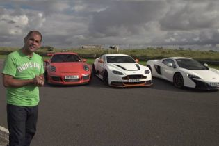 Chris Harris Pits Three Supercars Against Each Other