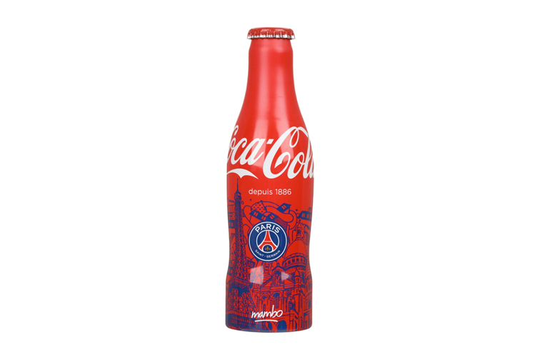 Paris Saint-Germain x Coca Cola Bottles by Ceizer & Mambo