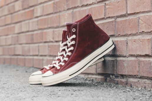 "Converse Chuck Taylor All Star '70 Hi Suede ""Red Dahlia"""