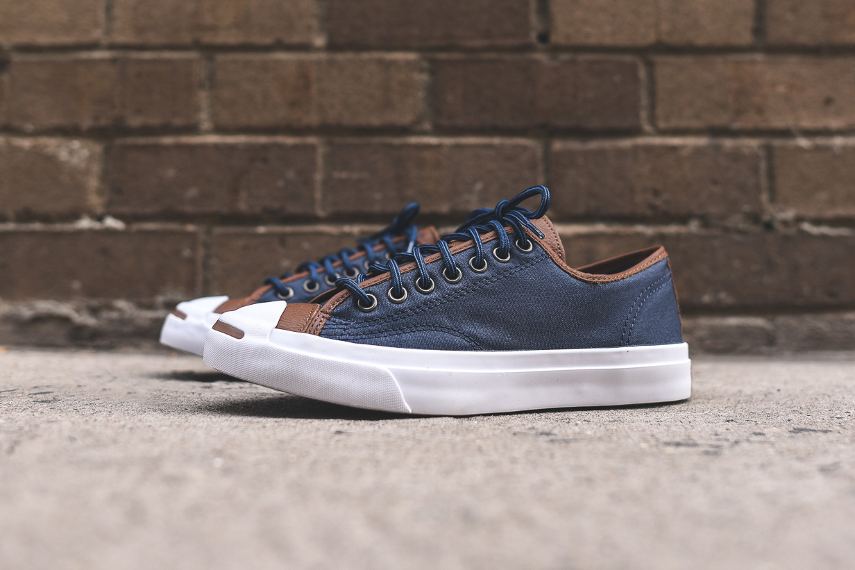 Converse Jack Purcell Nighttime Navy/Tobacco
