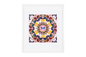 "Damien Hirst to Release New ""Kaleidoscope"" Prints"