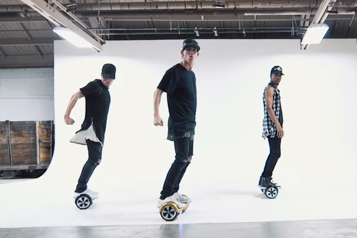 "A Dance Video to Justin Bieber's ""What Do You Mean"" Using Segways"