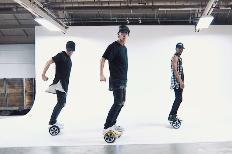 """A Dance Video to Justin Bieber's """"What Do You Mean"""" Using Segways"""