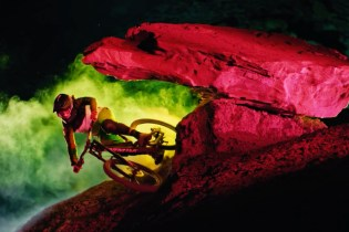 Three LED-Clad Mountain Bikers Light up the Night in Breathtaking Video