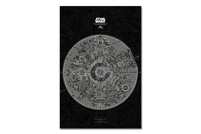 The Death Star II Blueprint Is the Last 'Star Wars' Poster You'll Ever Need