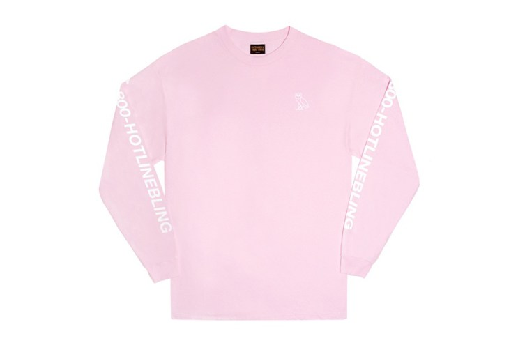 "OVO ""Hotline Bling"" Long-Sleeve T-Shirt"