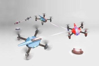 Drone'n'Base Create Real Life Mario Kart Battle Game