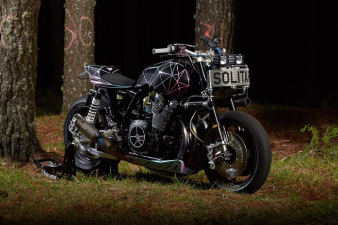 El Solitario x Yamaha Custom XJR1300 'Big Bad Wolf'