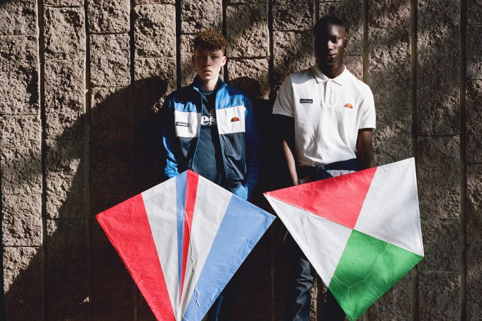 "Ellesse 2015 Fall/Winter ""Kite Runners"" Editorial by 'LAW' Magazine"
