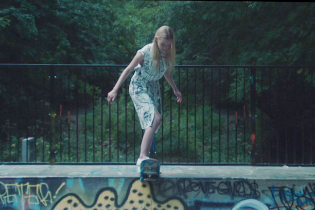 'Orange Juice' for Emilio Pucci Skateboard Narrative Video Lookbook