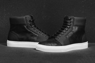 """En Noir """"Fortune Favors The Brave"""" Sneakers"""