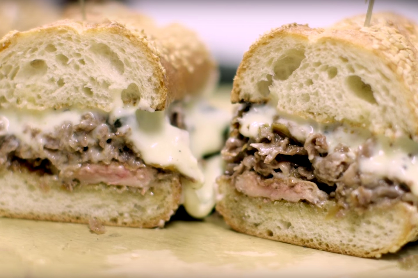 Watch How This $120 USD Philly Cheesesteak Is Made